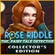 Rose Riddle: The Fairy Tale Detective Collector's Edition