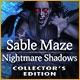 Sable Maze: Nightmare Shadows Collector's Edition