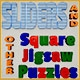 Sliders and Other Square Jigsaw Puzzles